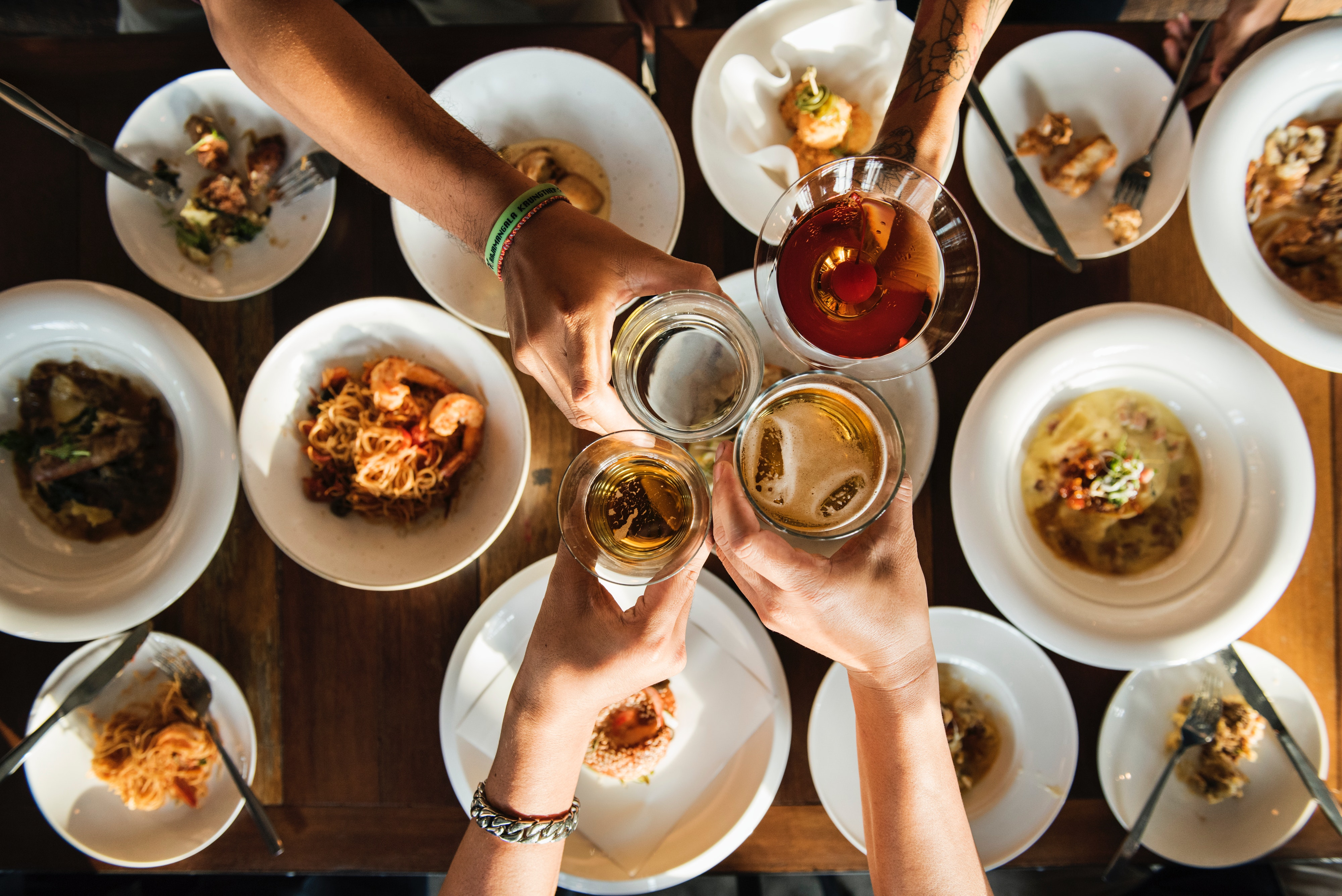Dinner Food And Beverage