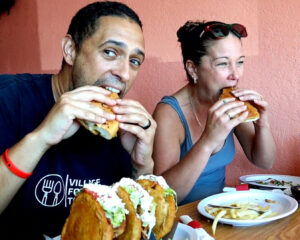 Halim And Jessica Owners of Village Food Tours
